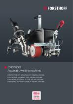 Automatic welding machines
