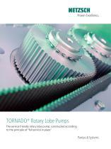 TORNADO® Rotary Lobe Pumps