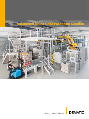 AMCAP - Automated Mixed Case Palletising