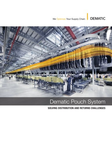 Dematic Pouch System