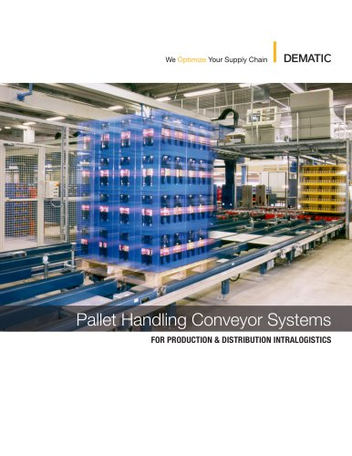Pallet Handling Conveyor Systems