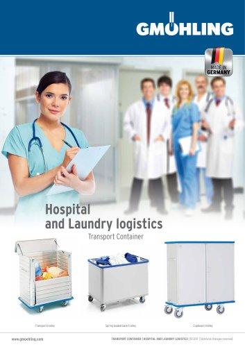 Hospital and laundry logistics