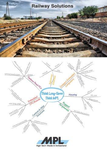 MPL AG Railway Solution brochure