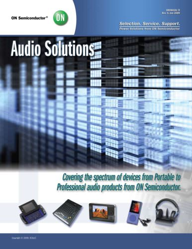 Audio Solutions from ON Semiconductor