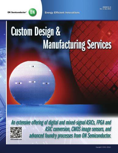Custom Design & Manufacturing Services