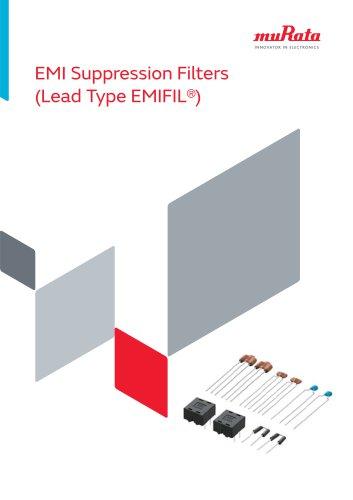 EMI Suppression Filters (Lead Type EMIFIL )