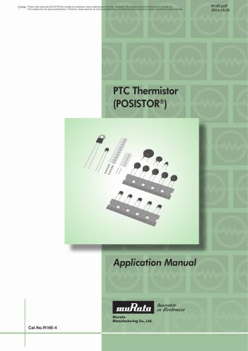 PTC Thermistors POSISTOR® Application Manual