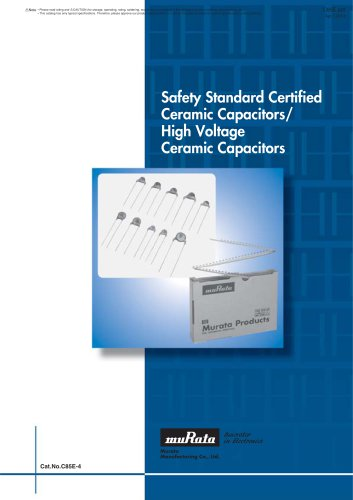 Safety Certified Ceramic Capacitors/High Voltage
