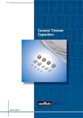 Trimmer Capacitors