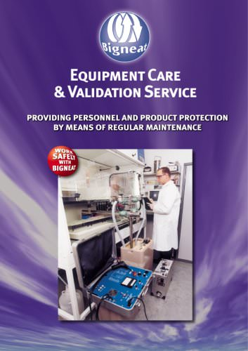 Equipment Care and Validation