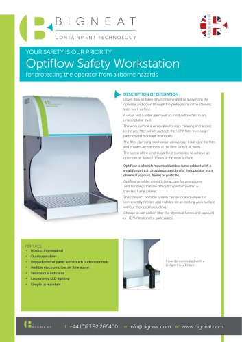 Optiflow Safety Workstation