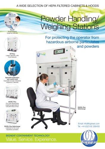 Powder Handling/ Weighing Stations
