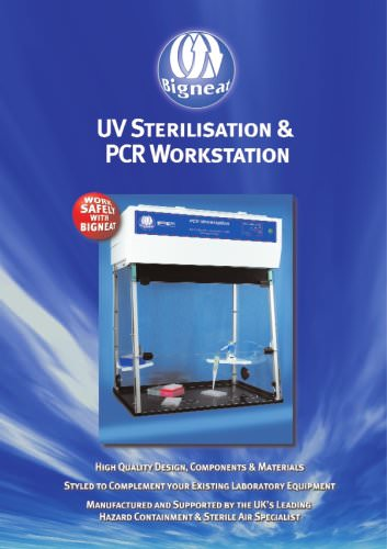 UV Sterilisation and PCR Workstation