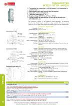 TRANSMITTER WT225 - VT225 - WF225