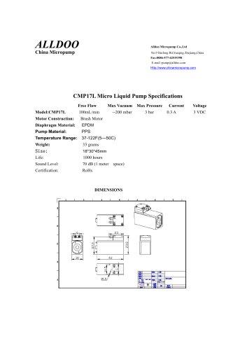Liquid Micro pump self-priming
