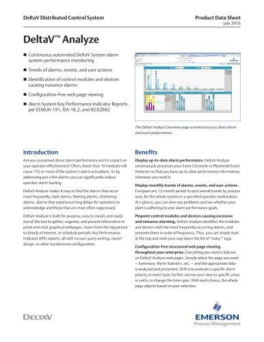 DeltaV Analyze