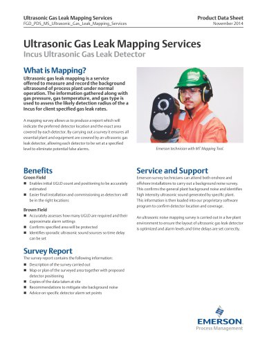 MS Ultrasonic Gas Leak Mapping Services