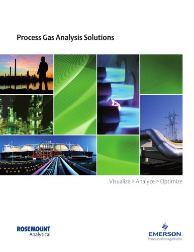 Process Gas Analysis Solutions
