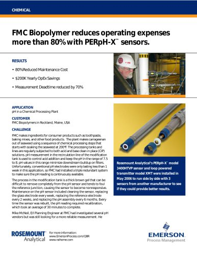 Reduce Biopolymer Operating Expenses with PERpH-X