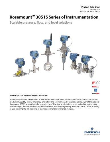 Rosemount  3051S Series of Instrumentation