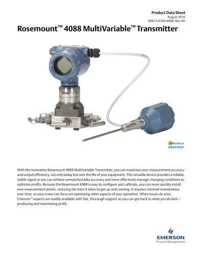 Rosemount 4088 MultiVariable™ Transmitter
