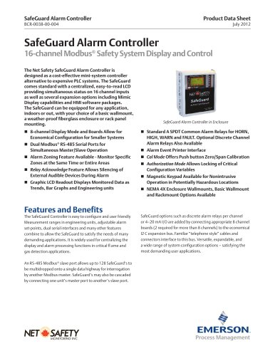 SafeGuard 16 Channel Controller