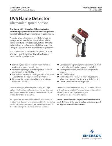 UVS Flame Detector
