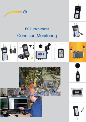 Condition Monitoring   Test Instruments