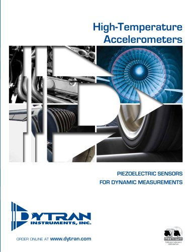 Piezoelectric Accelerometers for High Temperature Applications