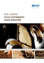RFB JUNIOR - FULLY AUTOMATIC SHOP ROASTER