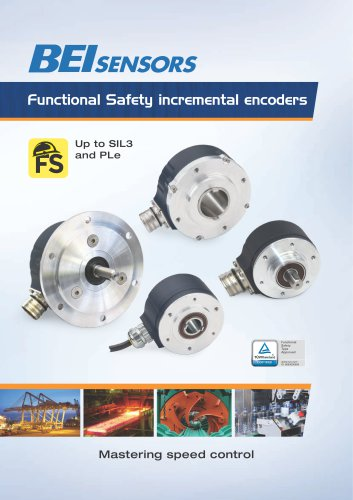 Functional Safety incremental encoders