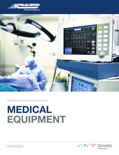 Pressure Measurement Solutions Medical Equipment Brochure
