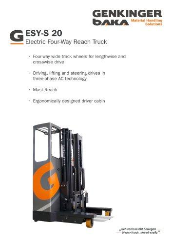 Four-Way Reach Truck