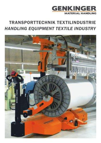 Handling equipment textile industry