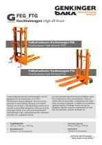 High Lift Truck FEG FTG