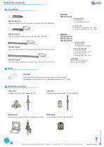 ProSens line accessories brochure
