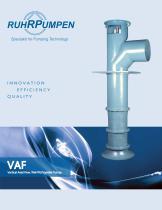 VAF Vertical Axial Flow Pumps