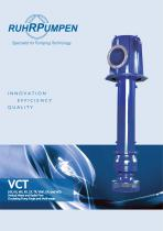 VCT  Vertical Mixed and Radial Flow Circulating Pump Single and Multi-stage