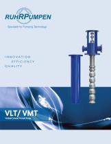 VLT / VMT - Vertical Canned, Multi Stage, Process Pumps