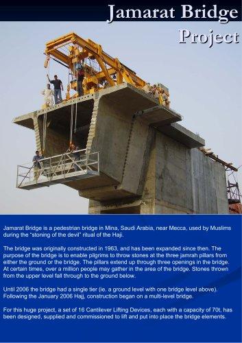 Equipment for Jamarat Bridge Project