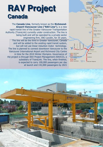 RAV line - Canada