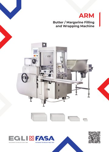 ARM - BUTTER / MARGARINE FILLING AND WRAPPING MACHINE