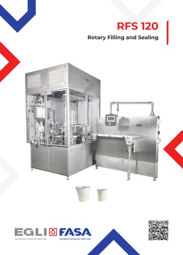 RFS120 - ROTARY FILLING AND SEALING