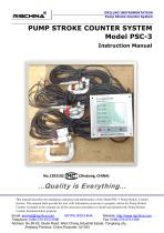 PUMP STROKE COUNTER SYSTEM MODEL PSC-3 (2016)