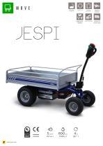 JESPI electric transport trolley
