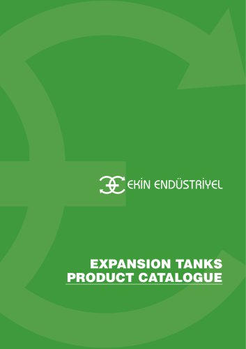 EXPANSION TANK PRODUCT CATALOGUE