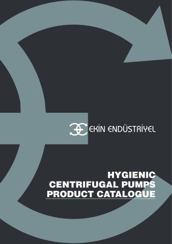 HYGIENIC CENTRIFUGAL PUMP PRODUCT CATALOGUE