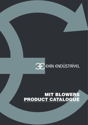 MIT BLOWER PODUCT CATALOGUE