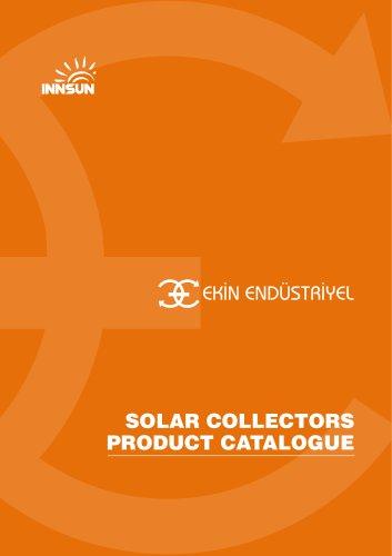 SOLAR COLLECTORS PRODUCT CATALOGUE