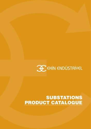 SUBSTATIONS PRODUCT CATALOGUE